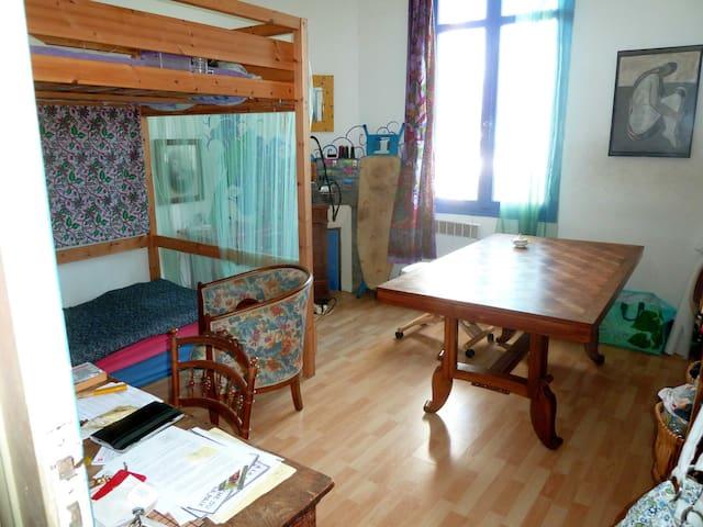 1 chambre dans une maison charmante - Cenon - Casa