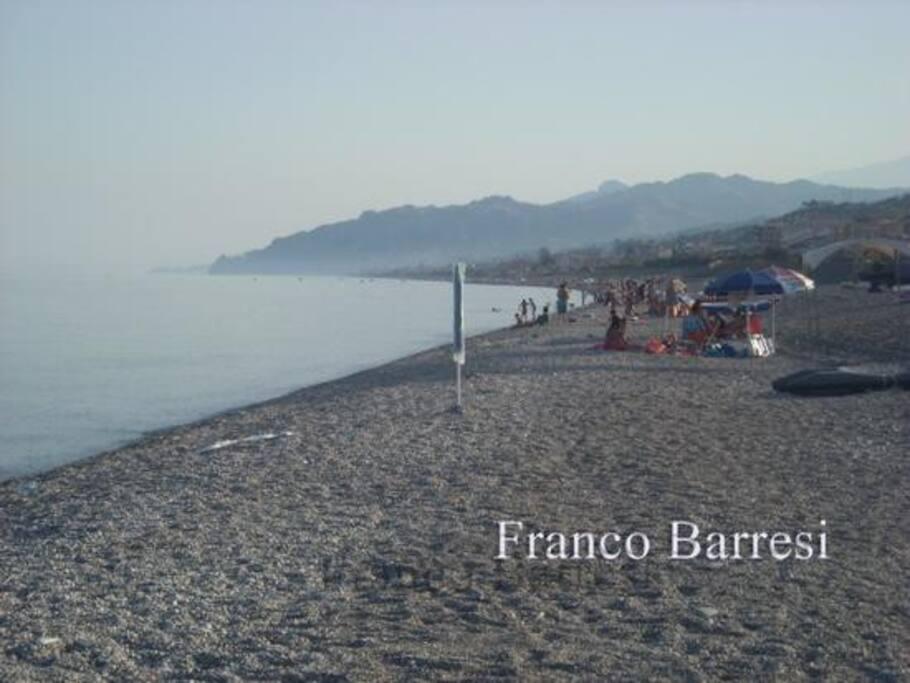 veduta della costa Jonica da Nizza