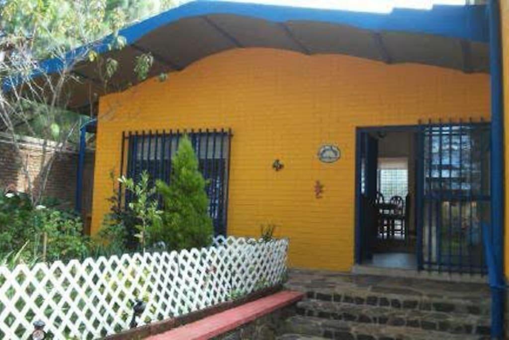 Casa Amarela.