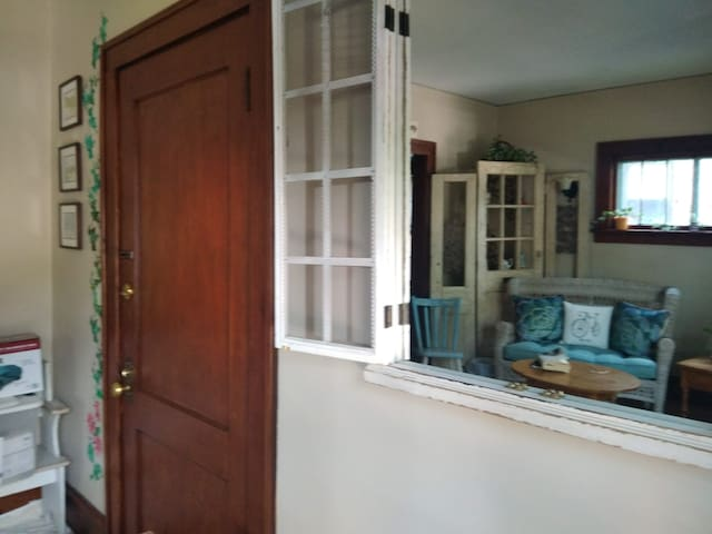 Front door/  Entrance room