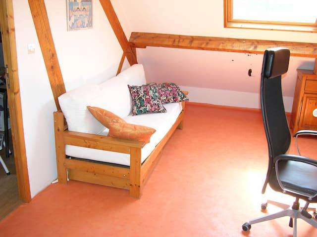 Chambre avec salle de bains privative au calme - Orvault - Pension