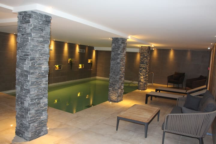 Les Gets 4 pers., plein centre, piscine, parking