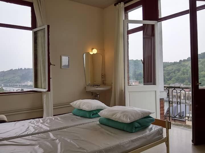 Chambre deux lits jumeaux