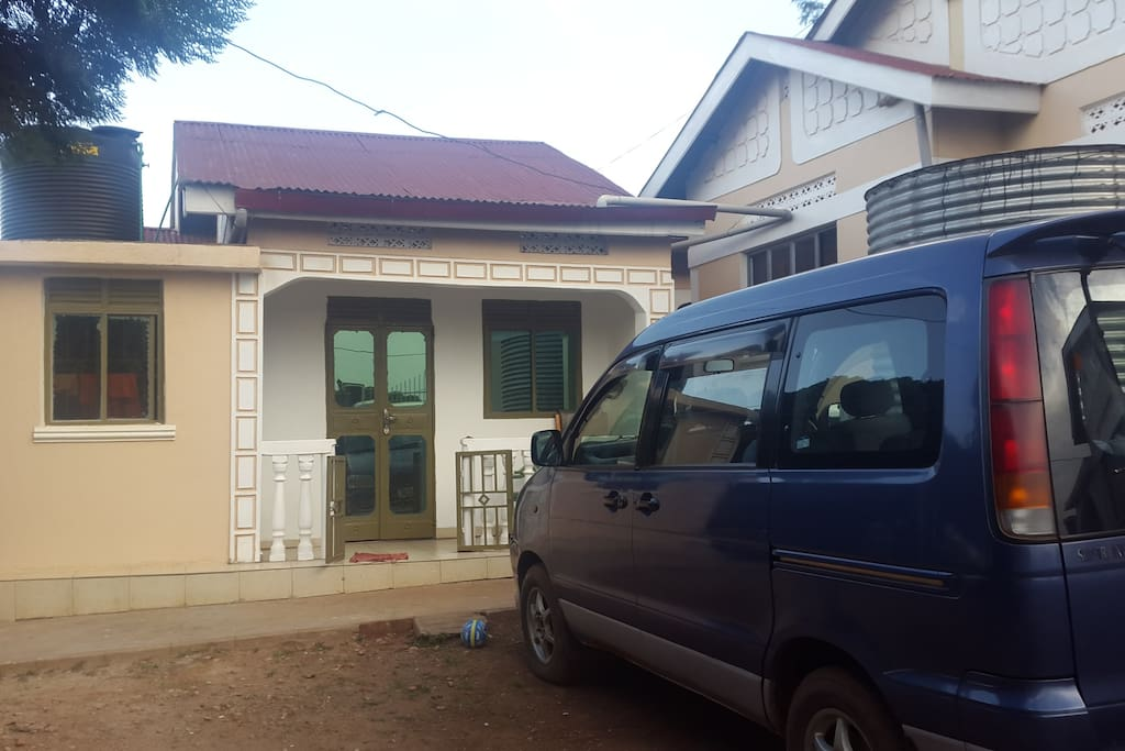 Second house with one self contained room and a sitting room + kitchen