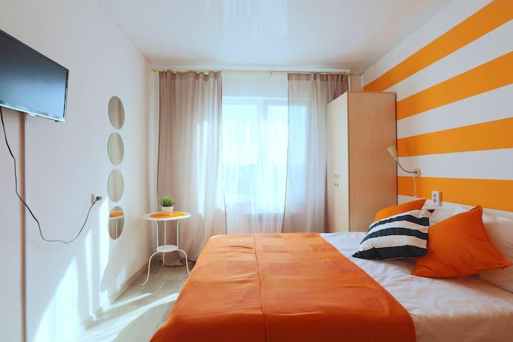 Комната с дизайнерским ремонтом - Ulan-Ude - Flat