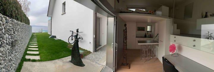 Studio de rêve entre vignes et lac