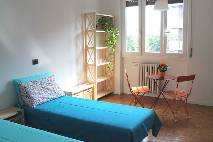 Studio in Parabiago 15min train to Rho Fair 2pers - Pogliano Milanese - Apartment