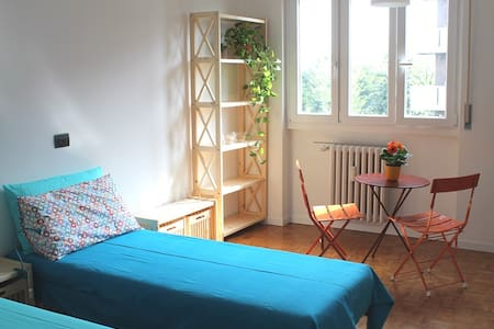 Studio in Parabiago 15min train to Rho Fair 2pers - Pogliano Milanese - Apartemen