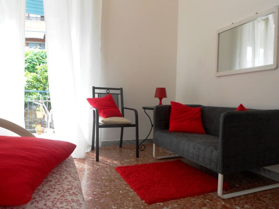 realax area in a double room