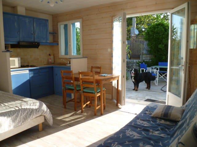 Ile d'Oléron  studio - accès direct à la plage - Saint-Pierre-d'Oléron - Apartment