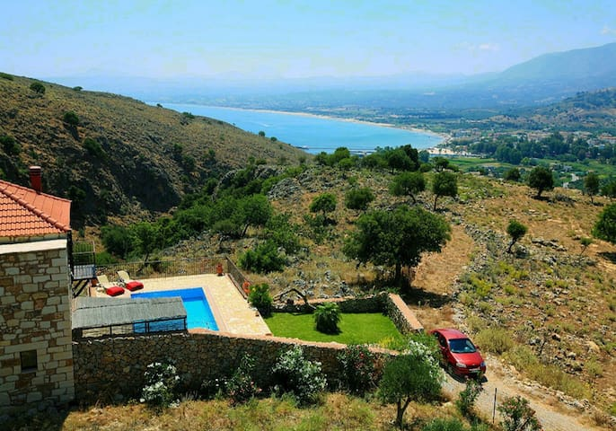 Chrysa private traditional villa, sea, mountain... - Georgioupoli