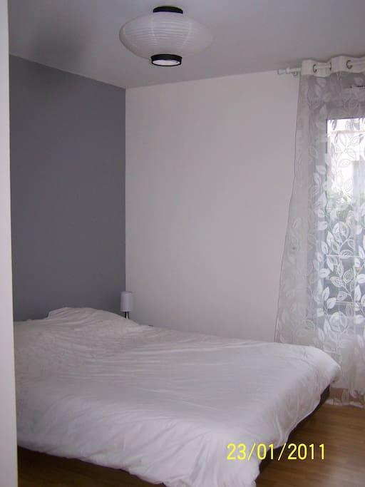 Chambre parentale lit 160