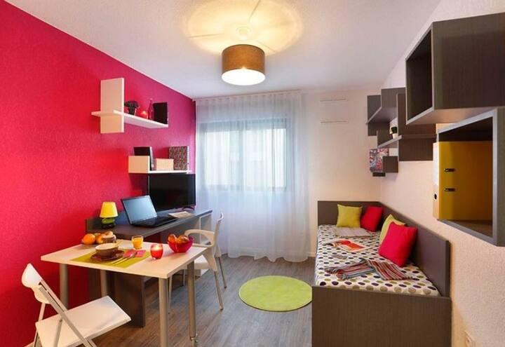 Studio cosy Aix-en-Provence Club Hippique