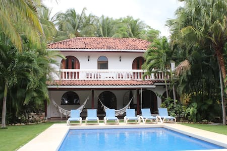 Casa Dorado, Lux Beachfront w/ pool - Playa Grande