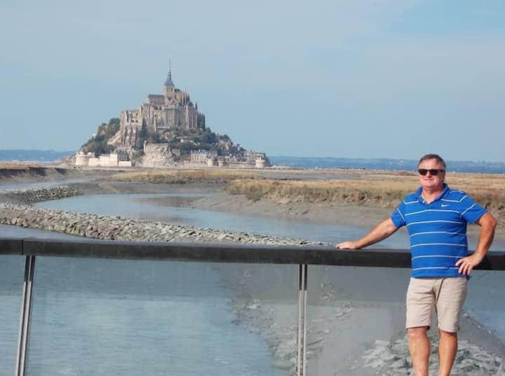 St Pair sur mer Normandie Baie du Mont St Michel
