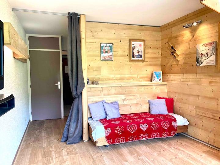 Appartement La Clusaz ,  2/4 pers, vue magnifique