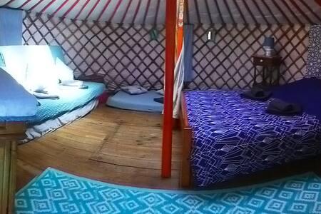 Yourte mongole camping de la Grivelière ****