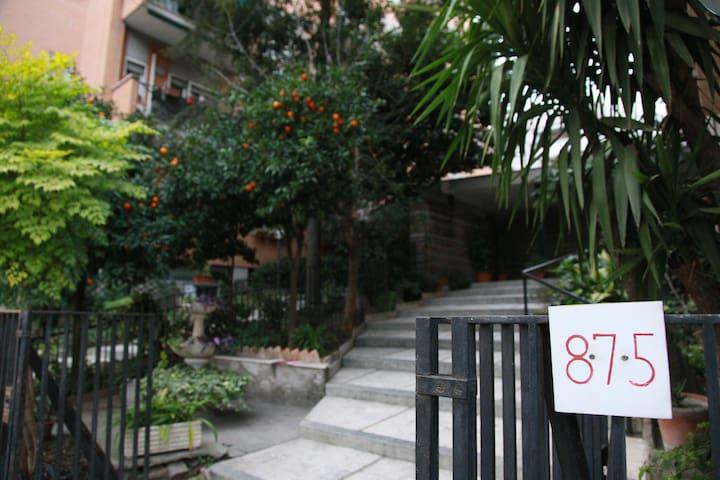 Soggiorno Nomentana 875 Appartamento per 6
