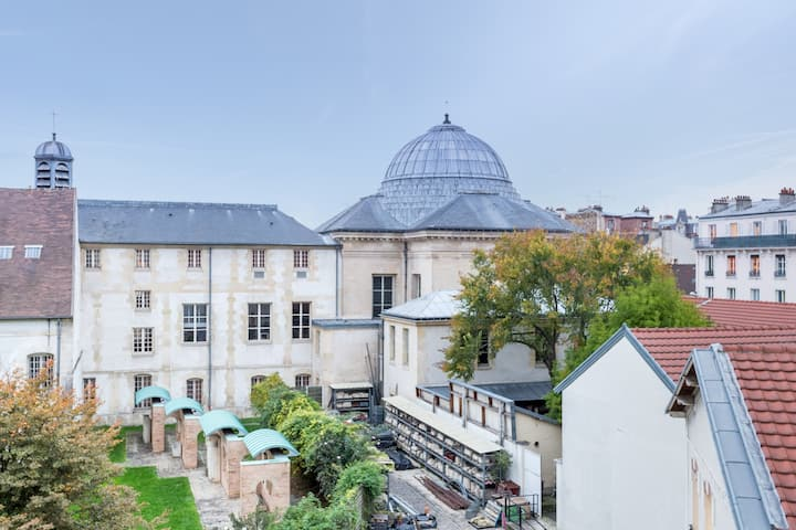 Cosy  Studio/ Basilique View/ Close to paris