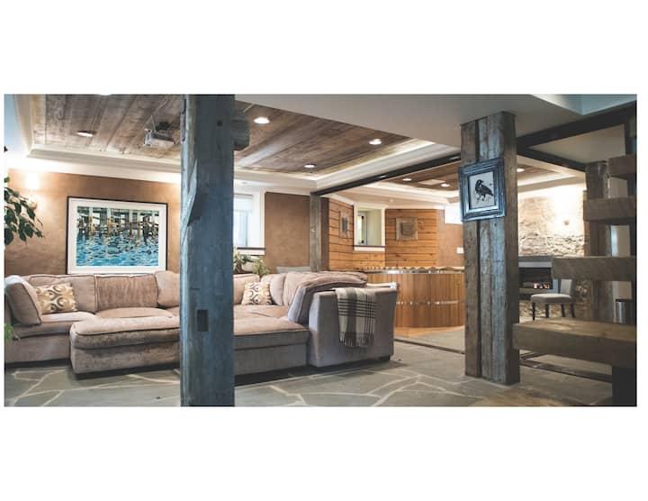 Luxurious Hottub Getaway centre Dal