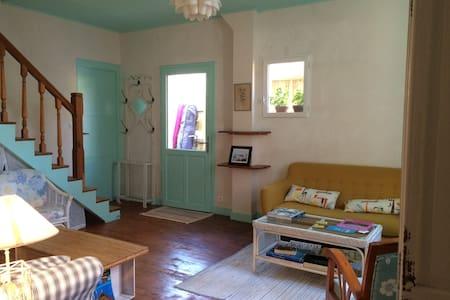La Villa Tamaris chambre menthe à l'eau 2 lits - Vieux-Boucau-les-Bains - Haus