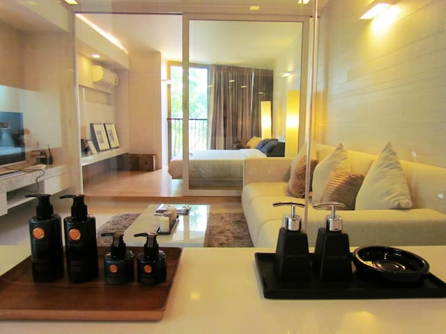 The room for lover, 2 minutes beach - Hua Hin - Kondominium