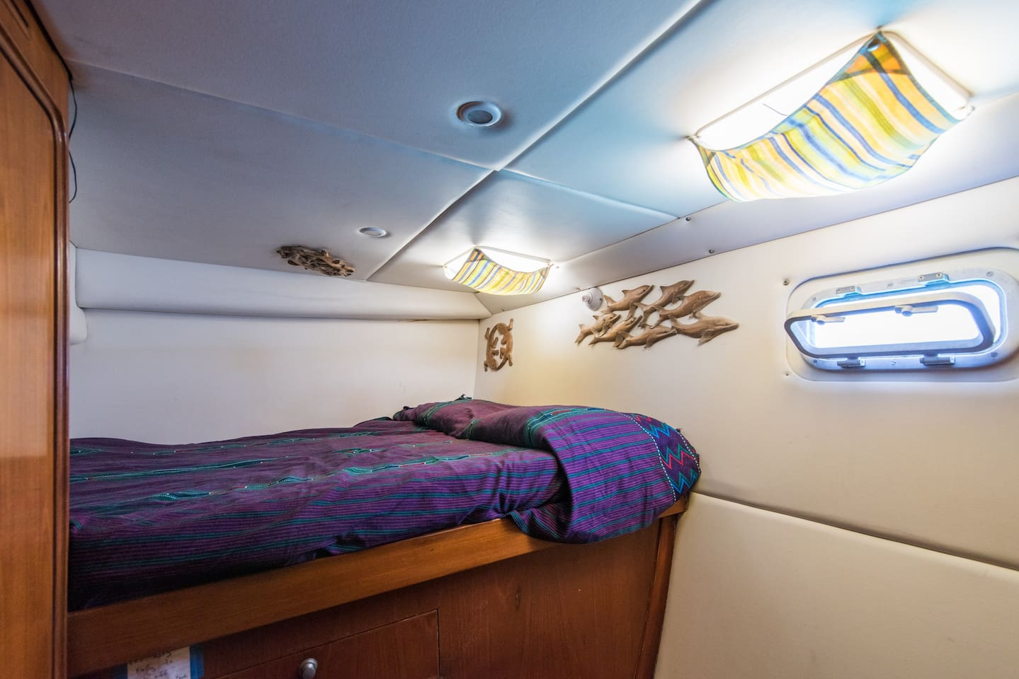 Your quarters, the port stern cabin.