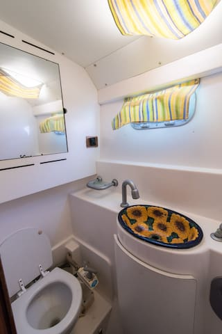 bathrooms in every cabin