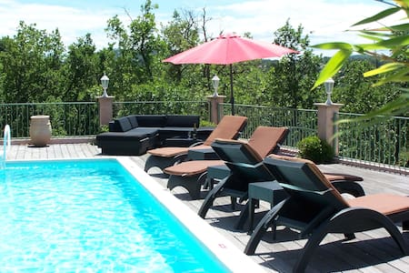 Luxury villa with great pool and fantastic view! - Rians - Villa