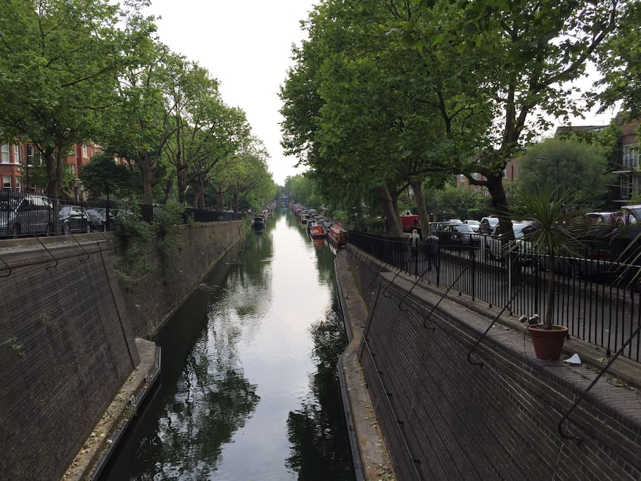 A few minutes walk and you are in the heart of beautiful Little Venice