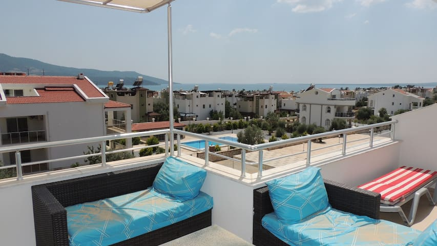 Beautiful Duplex close to beach - Akbük - Apartmen