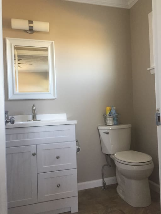 Half Bath off of Bedroom 3