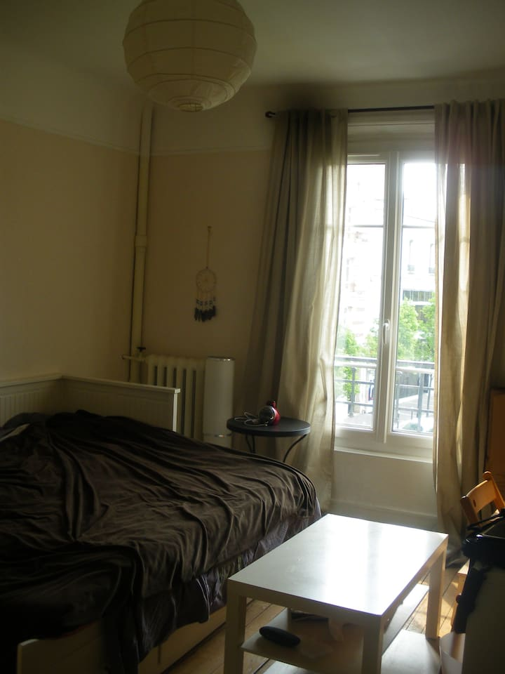 Room available with south eastern exposition