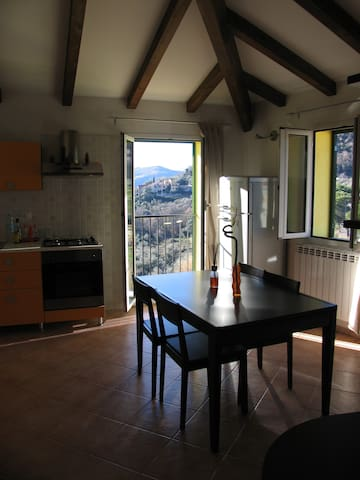 Graziosa mansarda in collina - Villanova D'albenga - Apartment