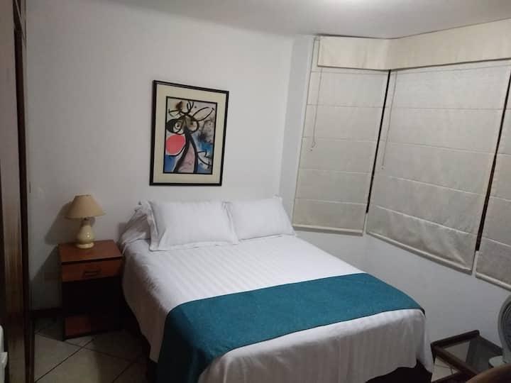 Dormitorio 1 - amoblado y equipado, Surco, Lima