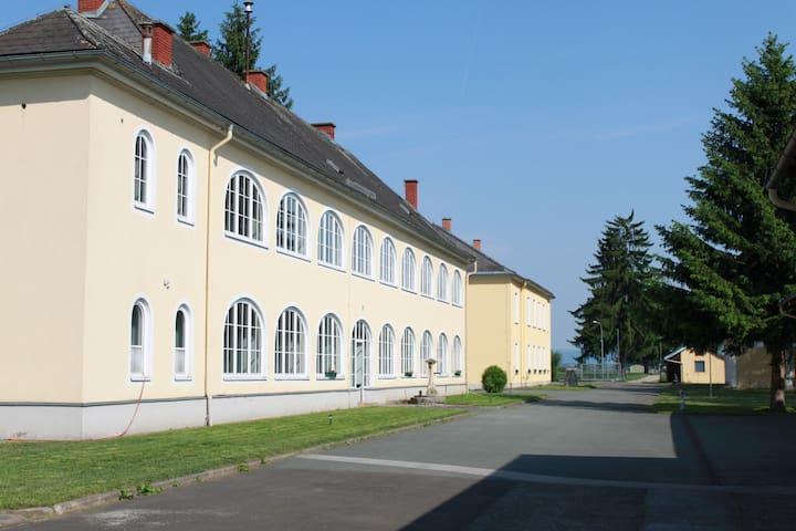 Wohnen in einem Schloss - Zettling