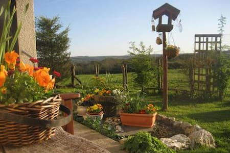 Peaceful smallholding lovely views - Llangoedmor - Domek parterowy