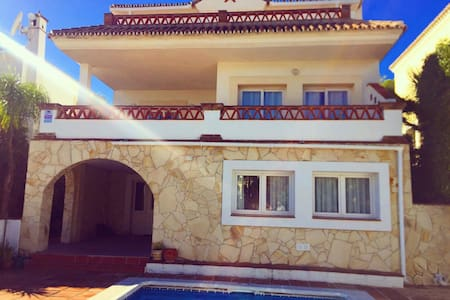 Lovely spanish villa with pool - Mijas