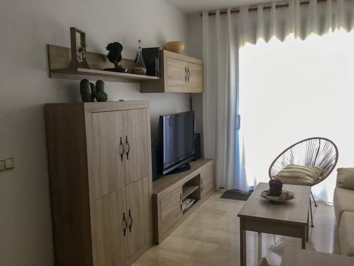 Apartamento Delta del Ebro.L'Ampolla,piscina,wifi