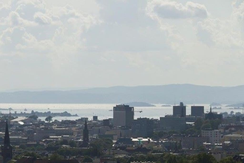 Oslofjord and islands are included for free in this apartment=)
