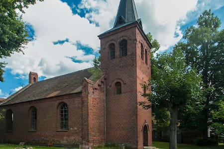 holiday in prussian village church - Havelsee
