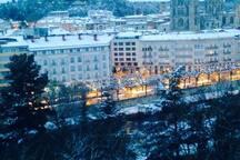 Burgos en inviernos PASADOS por el cambio climatico.