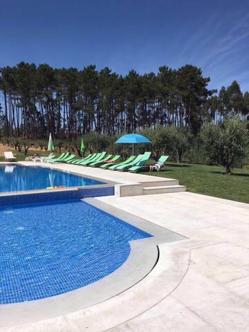 Villa des oliviers - Pombal - Talo