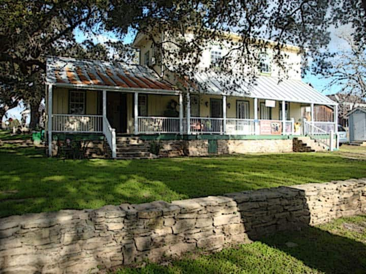 The Hideaway - Escape to Round Top and its charm.