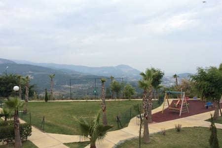 Kuşadası Golf Resort 1+1 Furnished - Kuşadası - Apartment