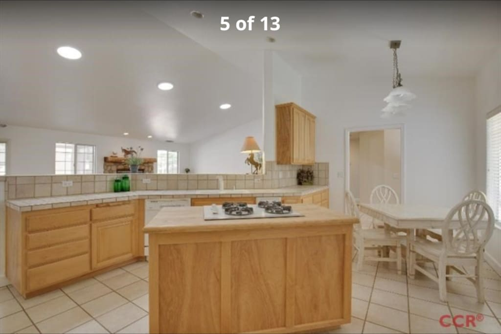 Gorgeously appointed kitchen