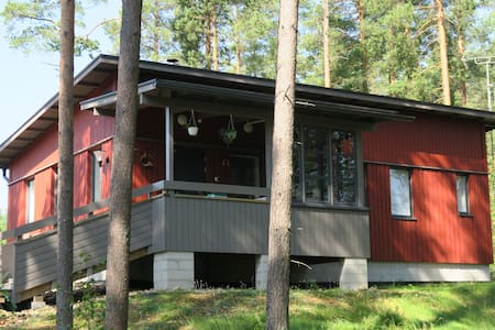 Lakeside house  close to Joensuu, North Karelia
