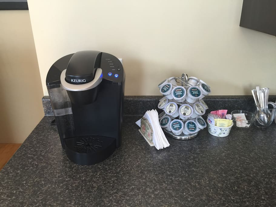 Complimentary coffee and tea to our valued guests.