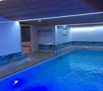 Luxueuse maison avec piscine intérieure 12m sauna - Chouzy-sur-Cisse