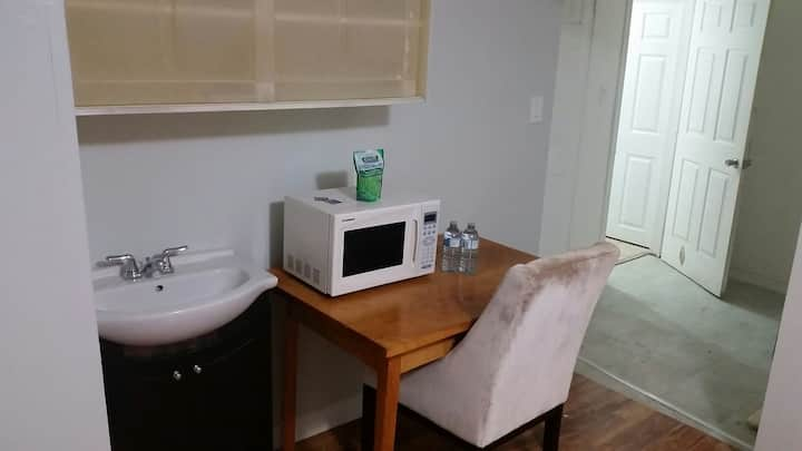 Private unit with own bathroom